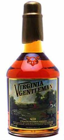 Virginia Gentleman Bourbon 80@
